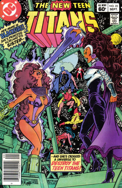 The New Teen Titans #23 (1982)