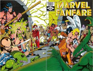 Marvel Fanfare #4 (1982)