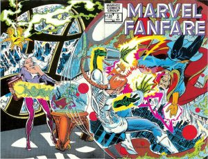 Marvel Fanfare #5 (1982)