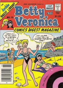 Betty and Veronica Comics Digest Magazine #15 (1983)