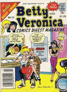 Betty and Veronica Comics Digest Magazine #22 (1983)