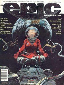 Epic Illustrated #17 (1983)