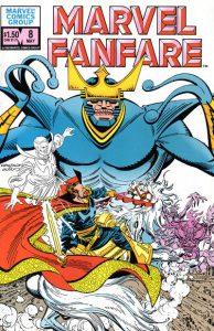 Marvel Fanfare #8 (1983)