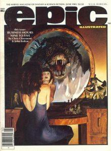 Epic Illustrated #18 (1983)