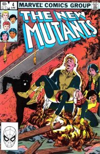 The New Mutants #4 (1983)