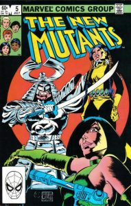 The New Mutants #5 (1983)