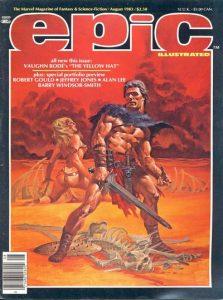 Epic Illustrated #19 (1983)