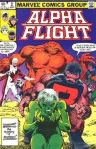 Alpha Flight #2 (1983)