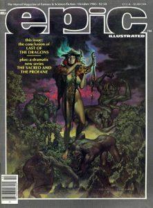 Epic Illustrated #20 (1983)
