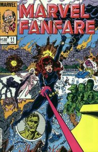 Marvel Fanfare #11 (1983)