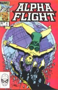 Alpha Flight #4 (1983)