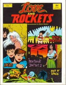 Love and Rockets #4 (1983)
