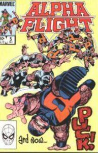 Alpha Flight #5 (1983)