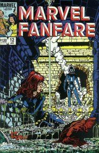 Marvel Fanfare #12 (1984)