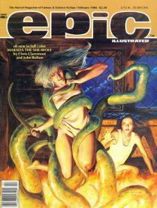 Epic Illustrated #22 (1984)