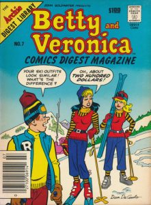 Betty and Veronica Comics Digest Magazine #7 (1984)