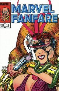 Marvel Fanfare #13 (1984)