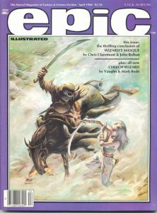 Epic Illustrated #23 (1984)