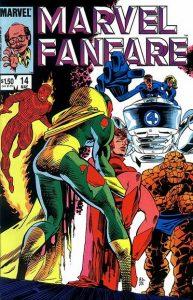 Marvel Fanfare #14 (1984)