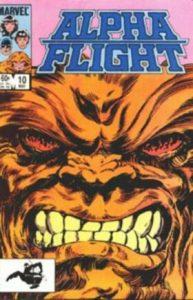 Alpha Flight #10 (1984)