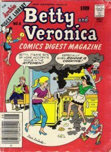 Betty and Veronica Comics Digest Magazine #8 (1984)