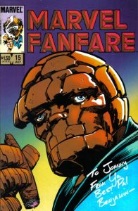 Marvel Fanfare #15 (1984)