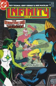 Infinity, Inc. #8 (1984)