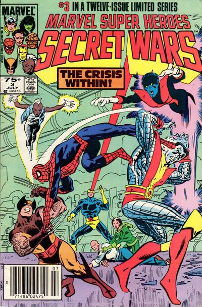 Marvel Super-Heroes Secret Wars #3 (1984)