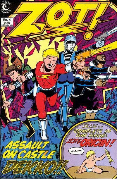 Zot! #4 (1984)