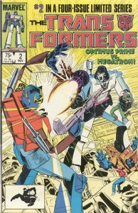 The Transformers #2 (1984)