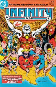 Infinity, Inc. #10 (1984)