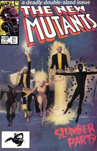 The New Mutants #21 (1984)