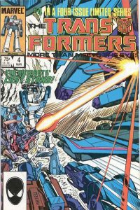 The Transformers #4 (1984)