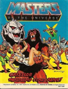 Masters of the Universe: Grizzlor: The Legend Comes Alive! #[nn] (1985)