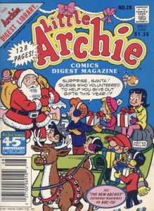 Little Archie Comics Digest Magazine #28 (1985)