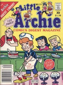 Little Archie Comics Digest Magazine #31 (1985)