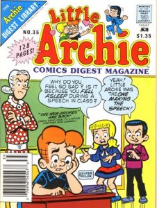 Little Archie Comics Digest Magazine #35 (1985)