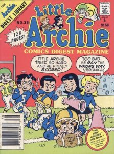 Little Archie Comics Digest Magazine #39 (1985)