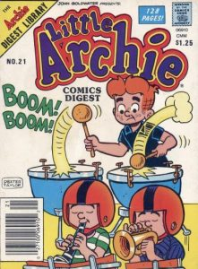 Little Archie Comics Digest Magazine #21 (1985)