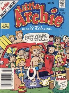 Little Archie Comics Digest Magazine #22 (1985)