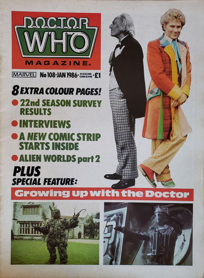 Doctor Who Magazine #108 (1985)
