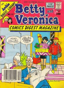 Betty and Veronica Comics Digest Magazine #12 (1985)