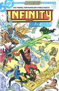 Infinity, Inc. #18 (1985)