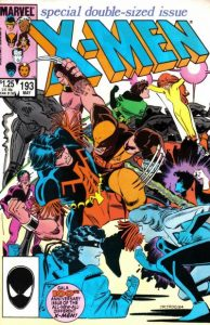 The Uncanny X-Men #193 (1985)