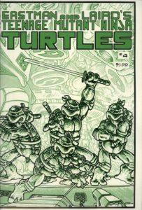 Teenage Mutant Ninja Turtles #4 (1985)