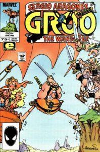 Sergio Aragonés Groo the Wanderer #4 (1985)