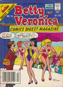 Betty and Veronica Comics Digest Magazine #13 (1985)