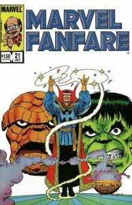 Marvel Fanfare #21 (1985)
