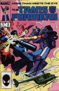 The Transformers #6 (1985)