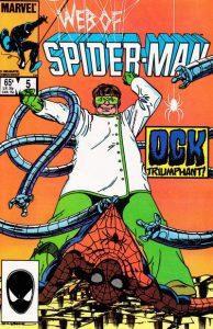 Web of Spider-Man #5 (1985)